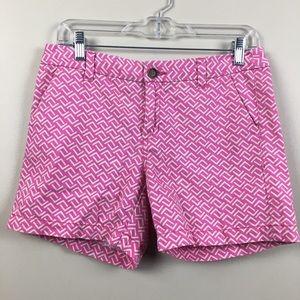 Merona | Pink Printed Shorts | Size 4